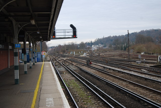 Railway junction, Redhill Station
