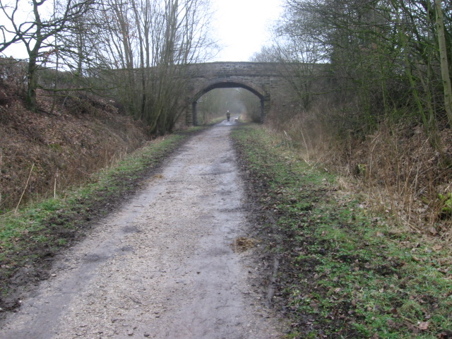 Middlewood Way near Hazel Knoll Farm