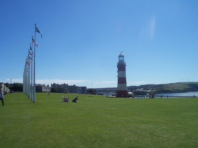 Plymouth : Plymouth Hoe & Smeaton's Tower