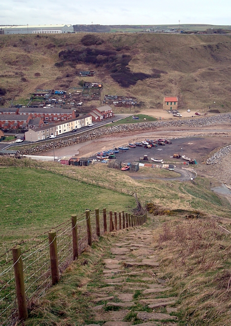 The Cleveland Way into Skinningrove