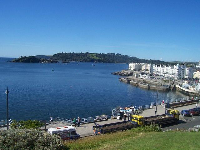 Plymouth : Plymouth Sound & Drake's Island