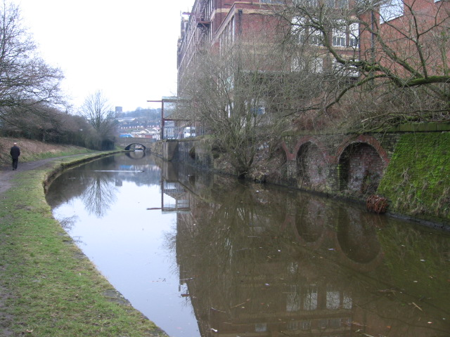 Macclesfield Canal near Hawk Green