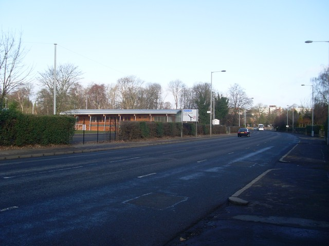 Bend in Haggs Road