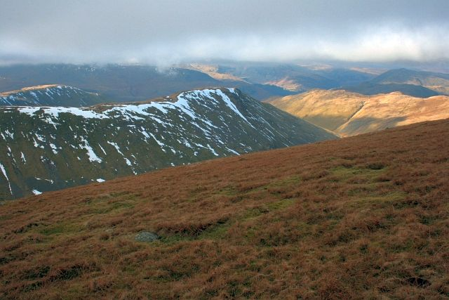 The Gray Crag Ridge From High Street