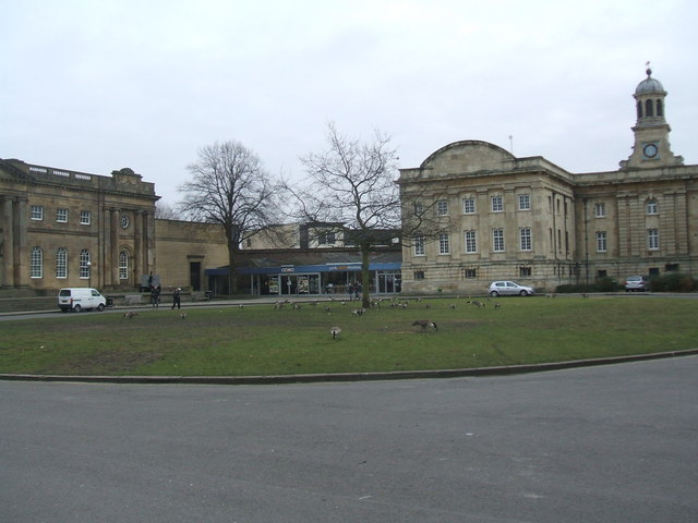 The Entrance to York Castle Museum
