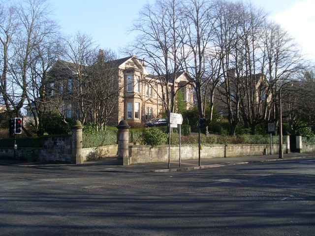 Houses on Nithsdale Road