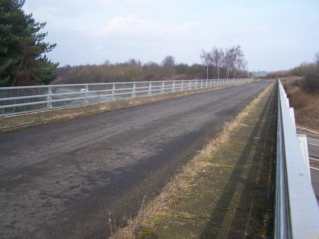 Fawkham Road bridge over M20 Motorway