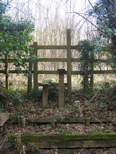 Steps and stile on Crowhurst Lane