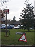 TQ5865 : Fawkham Village Sign by David Anstiss