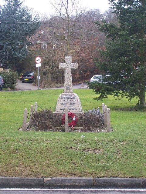 War Memorial on Fawkham Green