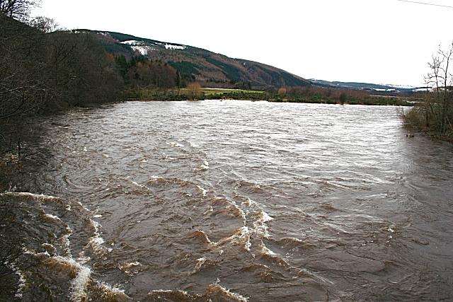 River Spey in Spate