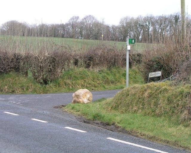 Landsker Trail waymarker