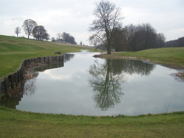 Lake in Redlibbets Golf Course