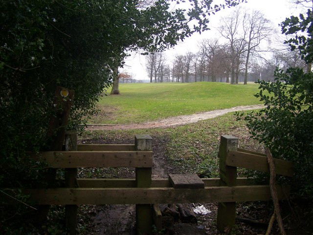 Stile into Redlibbets Golf Course