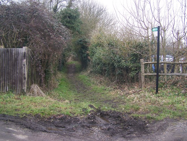 Footpath on Butchers Lane