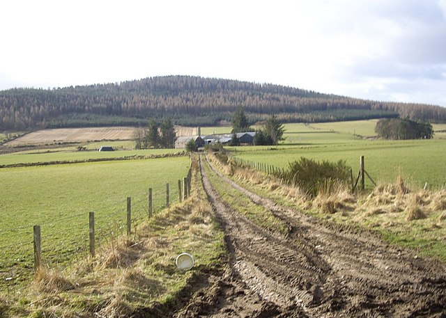 Track to Moulinearn