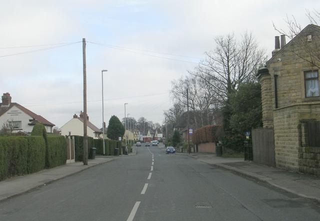 Weston Lane - viewed from Weston Drive