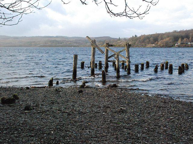 Old steamer pier, Portsonachan