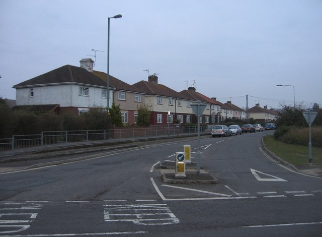 Merton Road on a grey day