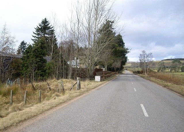 Approaching Glenburn