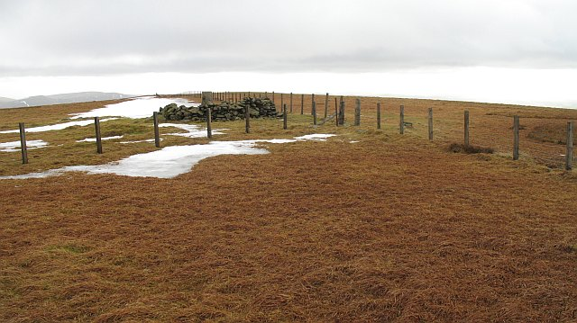 The summit of Hart Fell