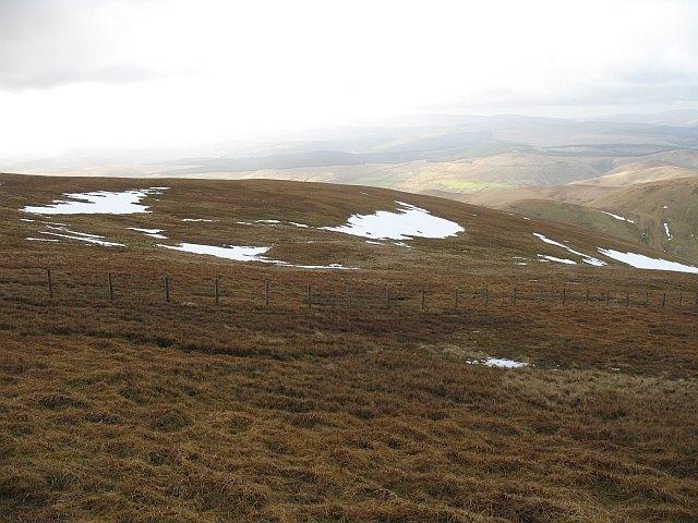 Slopes of Hart Fell