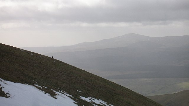 West side of Hart Fell