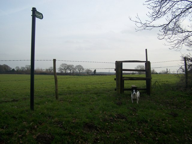 Stile on Rectory Road