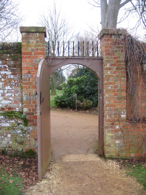 Entrance to the Walled Garden