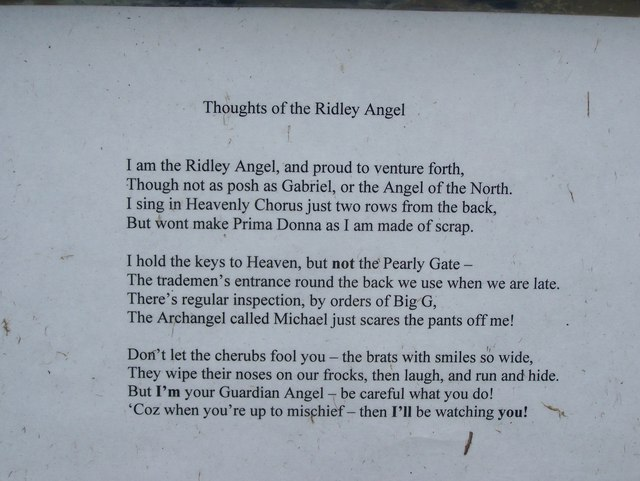 Thoughts of Ridley Angel