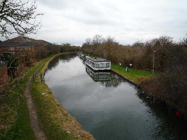 View from Spikes Bridge (looking northwards)