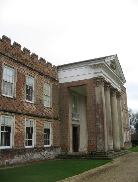 A classical portico