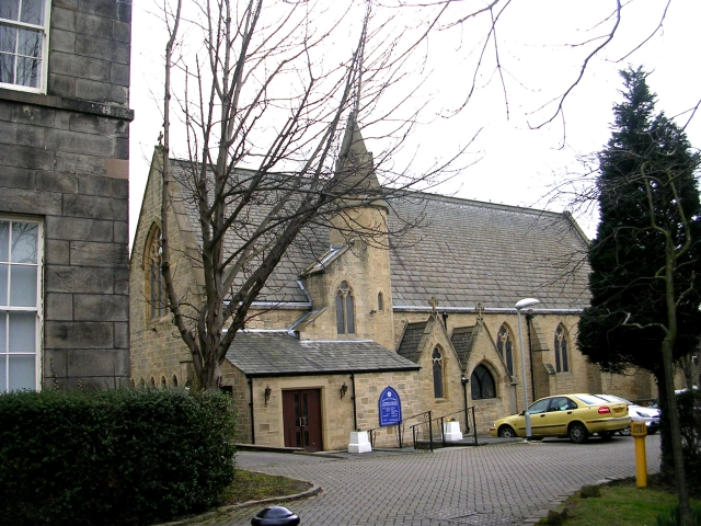 Our Lady & All Saints Catholic Church  - viewed from Manor Square