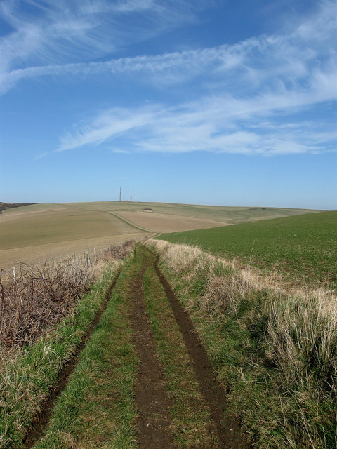 Bridleway to Beddingham Hill