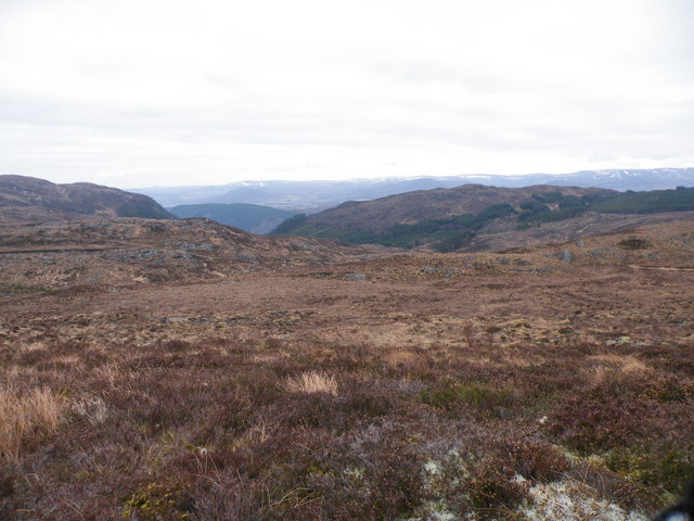 On Moorland above Allt Loch an t-Sionnaich