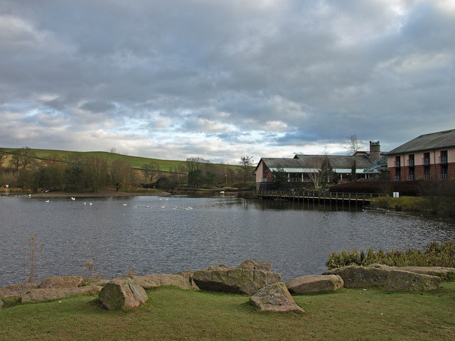 The Loch at Annandale Water Motorway Services