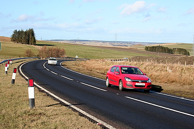 The A96 near Keith