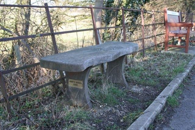 Mary's bench