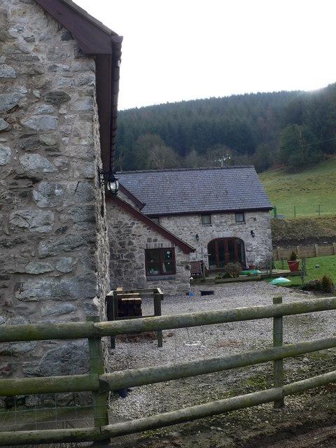 Converted barns at Graig Farm