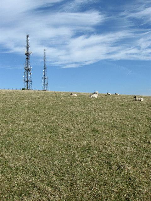 Radio Transmitters, Beddingham Hill