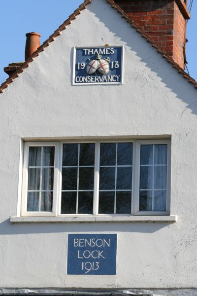 Plaque on the gable end