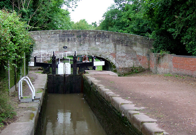 Haywood Lock No 22, Trent and Mersey Canal, Staffordshire