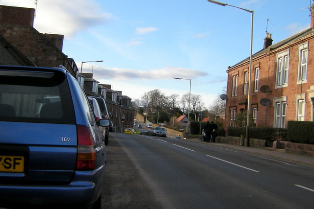 Cairnie Street, Arbroath, near its junction with Howard Street