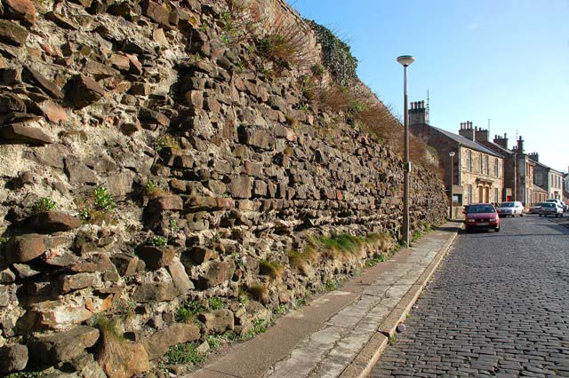 The Old Citadel Wall In Cromwell Road