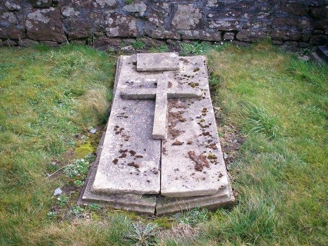 Bethania Chapel, Whitland - gravestone