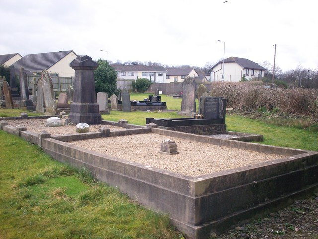 Bethania Chapel, Whitland - gravestones