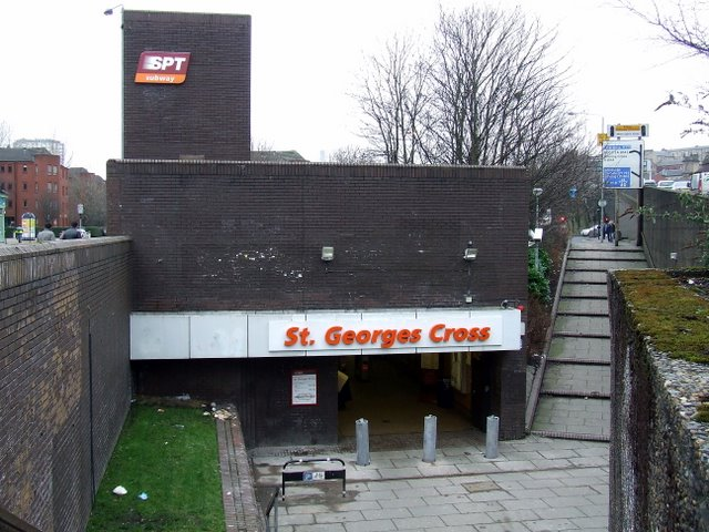St George's Cross underground station