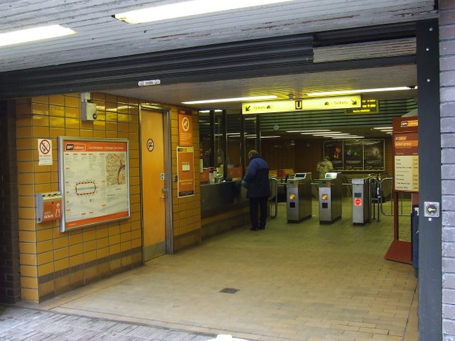 St George's Cross underground station