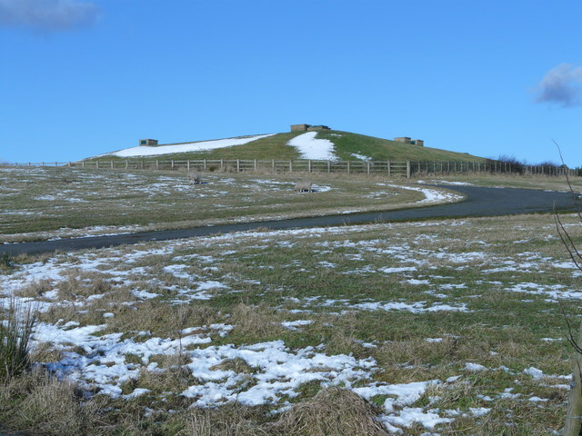 Covered reservoir