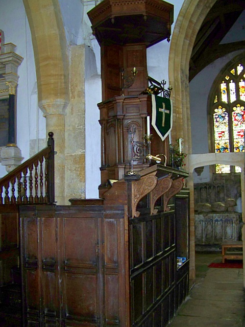 Pulpit, Church of St Mary the Virgin, Puddletown
